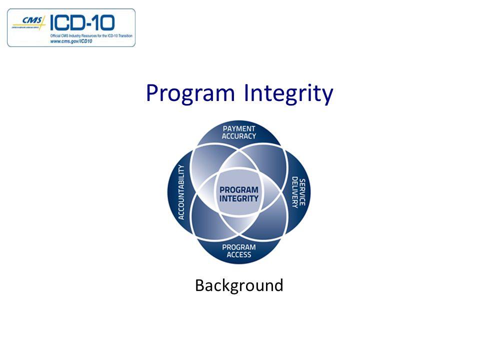 Background Program Integrity