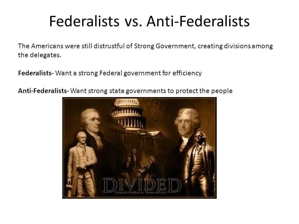 Federalists vs.
