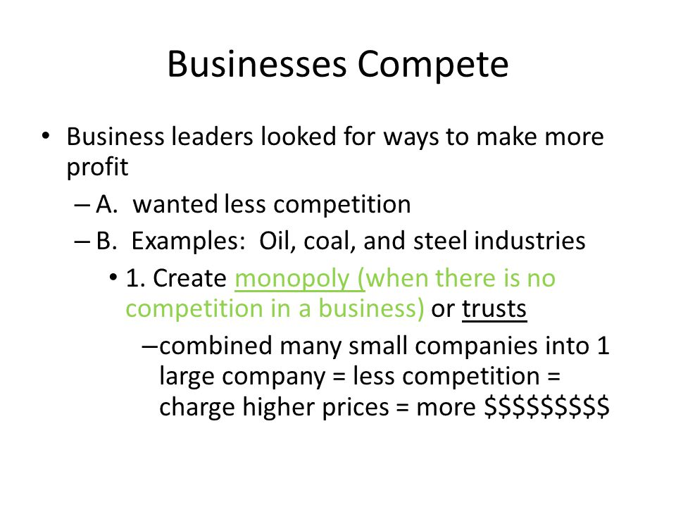Industrialization and the Rise of the Modern Corporation Q: What is an entrepreneur.