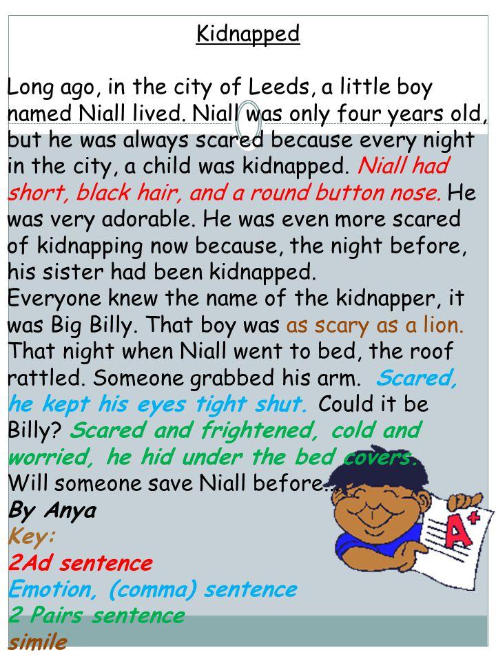 Key: 2Ad sentence Emotion, (comma) sentence 2 Pairs sentence simile