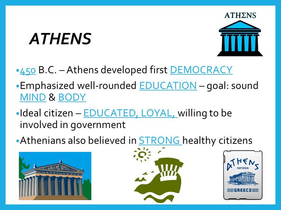 ATHENS 450 B.C.