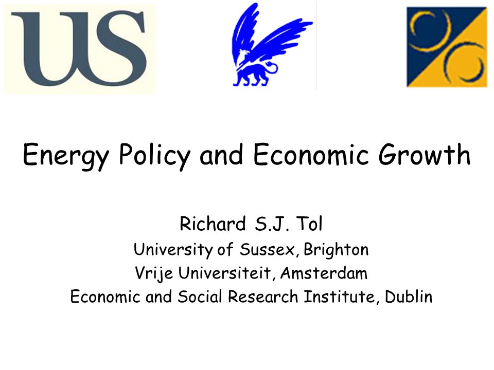 Energy Policy and Economic Growth Richard S.J.