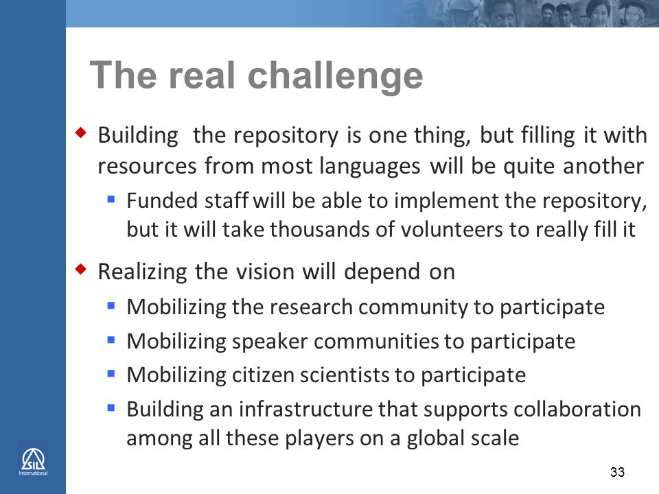 """4. Foster global collaboration  Purpose of BCC-SBE/EHR:  """"enable research communities … to creat[e] new, large-scale, next-generation data resources"""