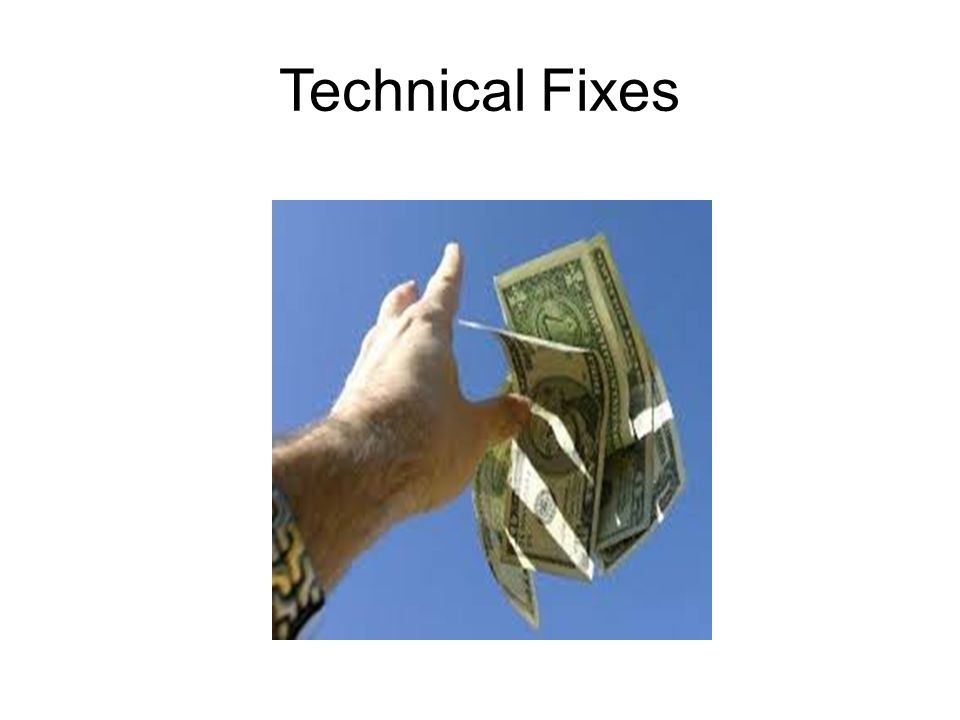 Technical Fixes