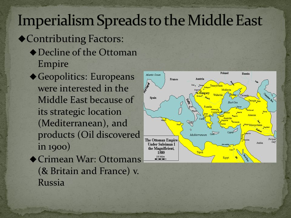 In order to avoid colonization some Muslim countries attempted to modernize  Egypt: Muhammad Ali, Isma'il & Suez Canal  Economic Imperialism (Persia, and tobacco boycott)