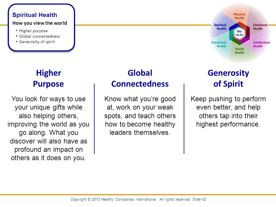 Copyright © 2013 Healthy Companies International. All rights reserved.