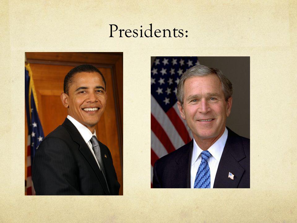 Presidents: