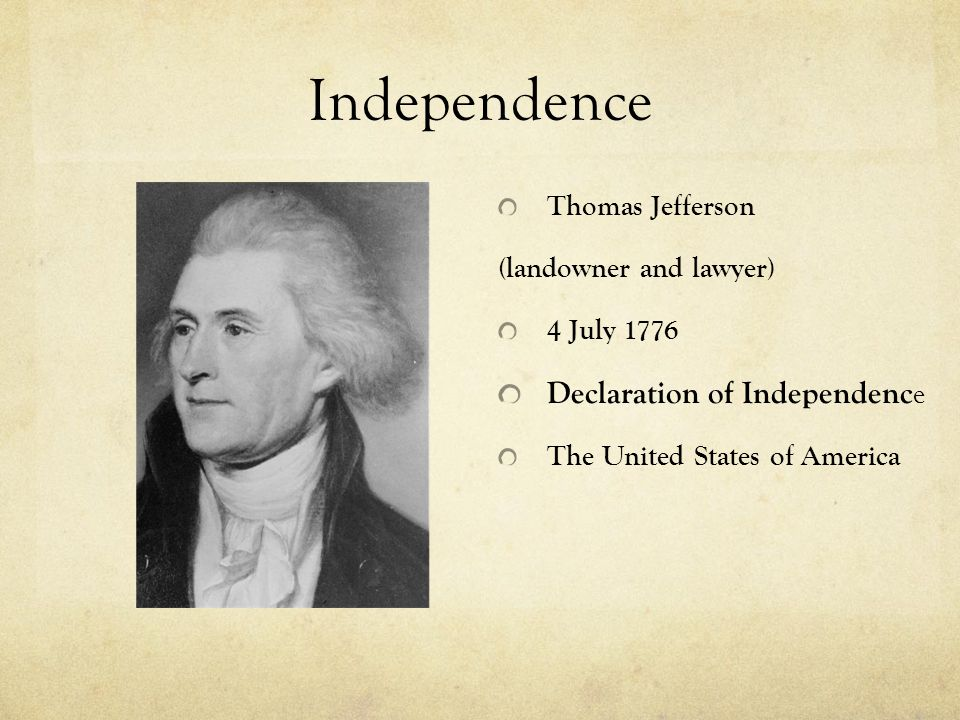 George Washington 1788: First President of USA 1789: Constitution went into effect