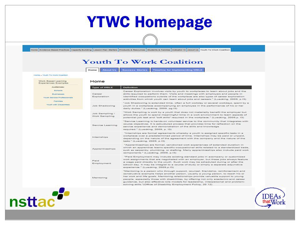 YTWC Homepage