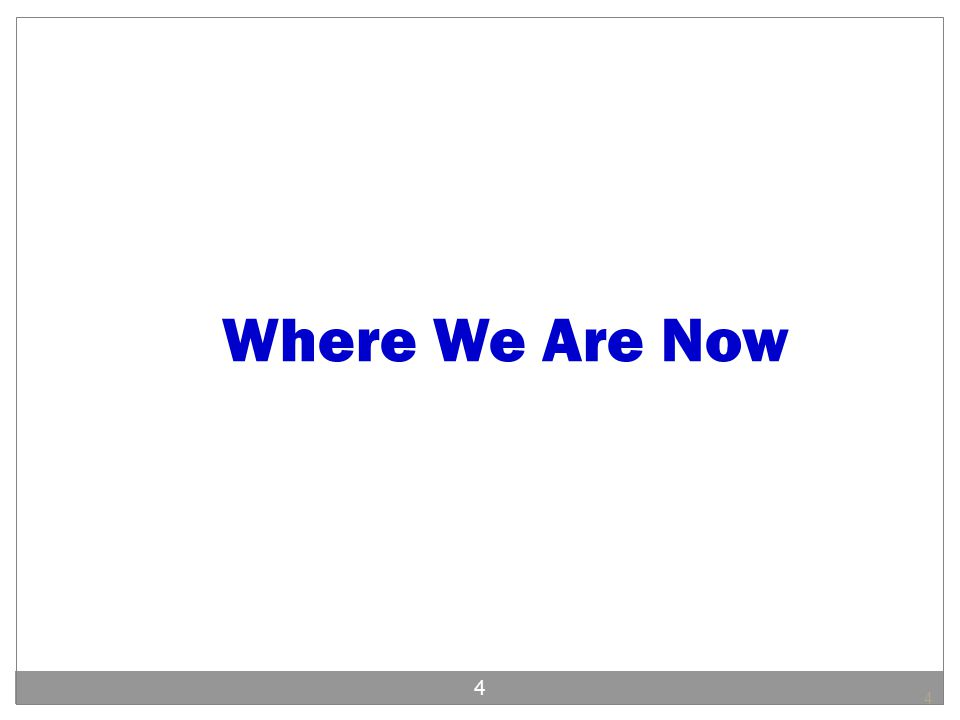 Where We Are Now 4 4