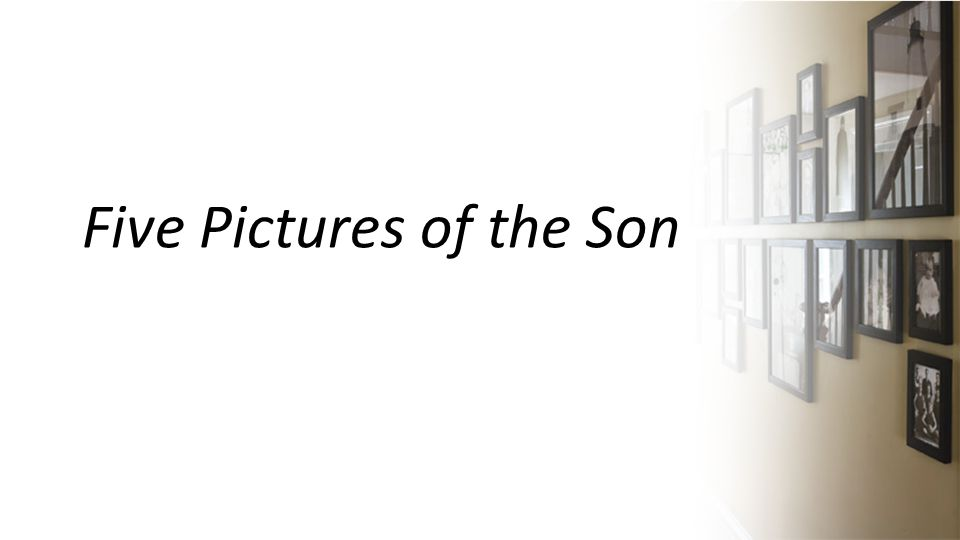 Five Pictures of the Son
