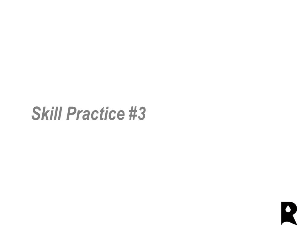 Skill Practice #3