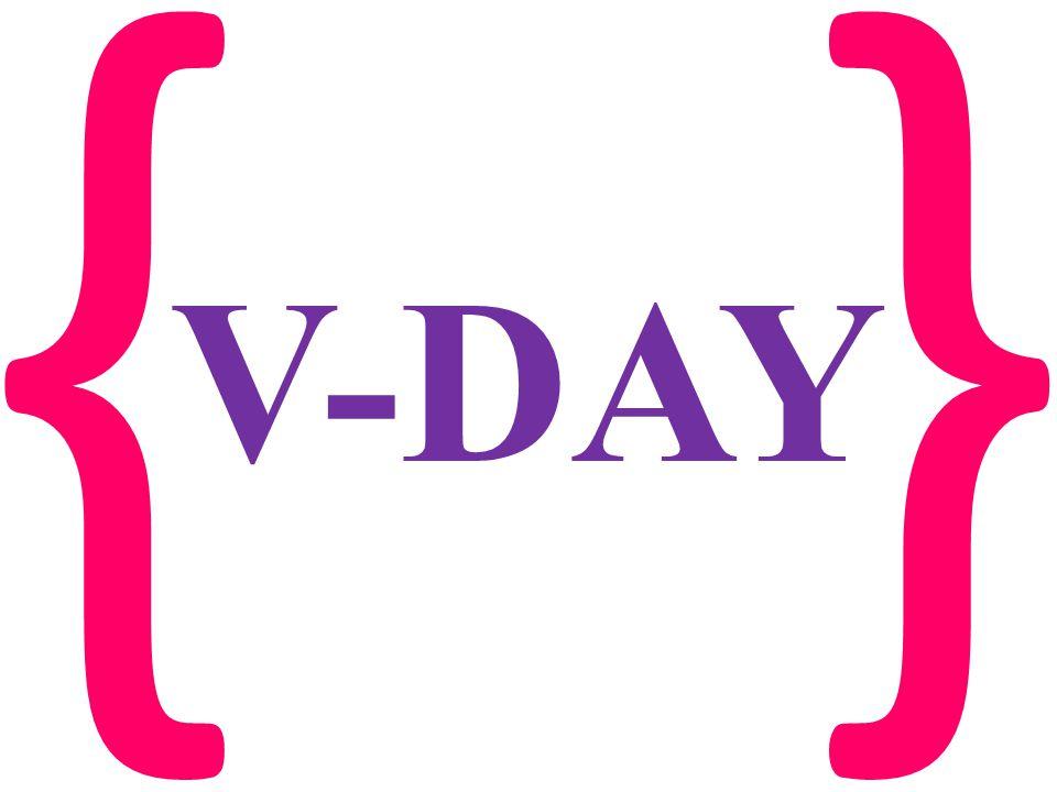 {} V-DAY