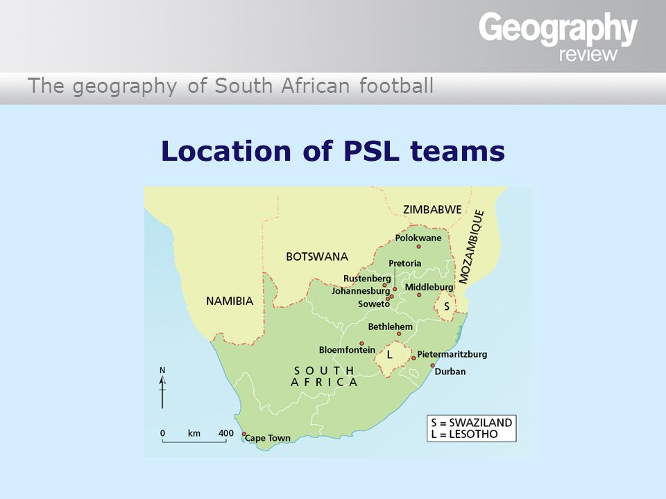 The geography of South African football Sponsorship In June 2007, the PSL signed a R1.6 billion broadcast deal with SuperSport International, a media company.