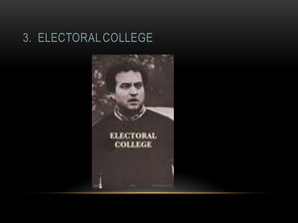 3. ELECTORAL COLLEGE
