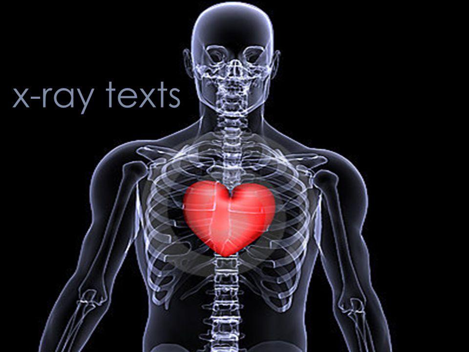 x-ray texts