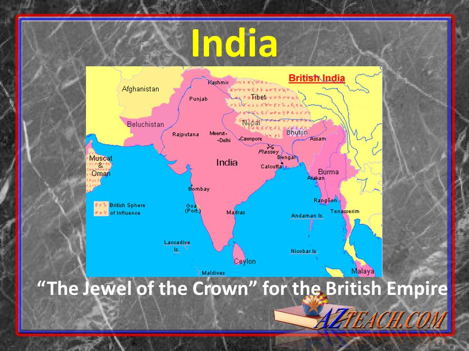 British India The British East India Company was given permission by the British government to run the colony of India – Indian soldiers called Sepoys were hired by the East India Company to protect their business Most Sepoys were Muslim or Hindu Indians did not have same rights as British Many British looked down on Indians because of their race