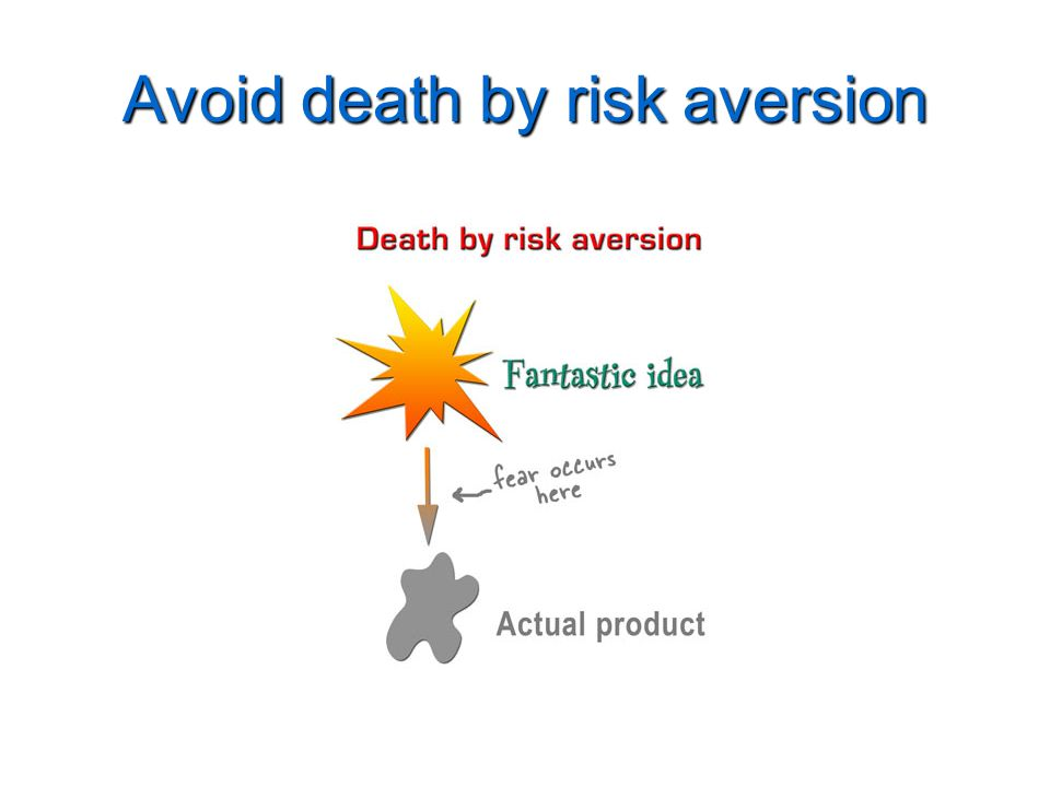 Avoid death by risk aversion