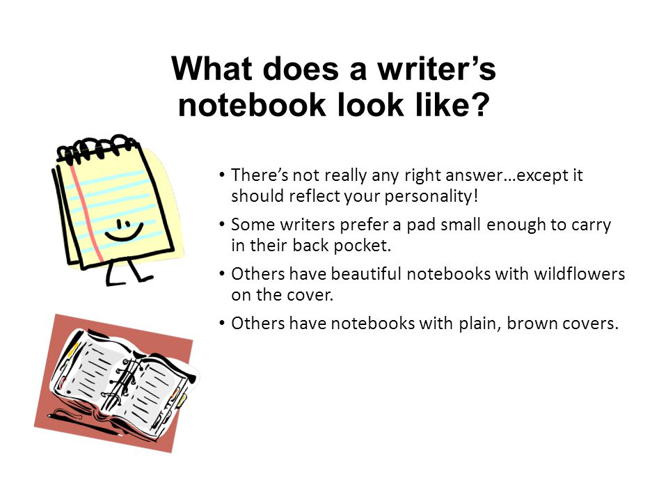 Your Notebook Is uniquely yours.