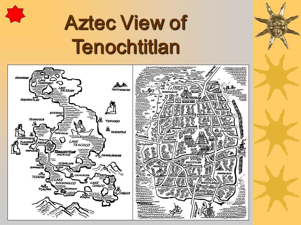 Aztec View of Tenochtitlan