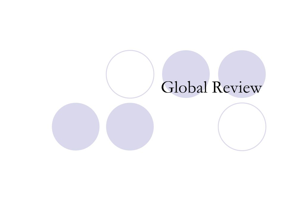 Global Review
