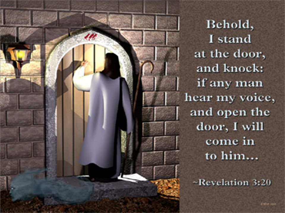 Outside Knocking and Inside Locking Where are we going… where have we been?  Laodicea