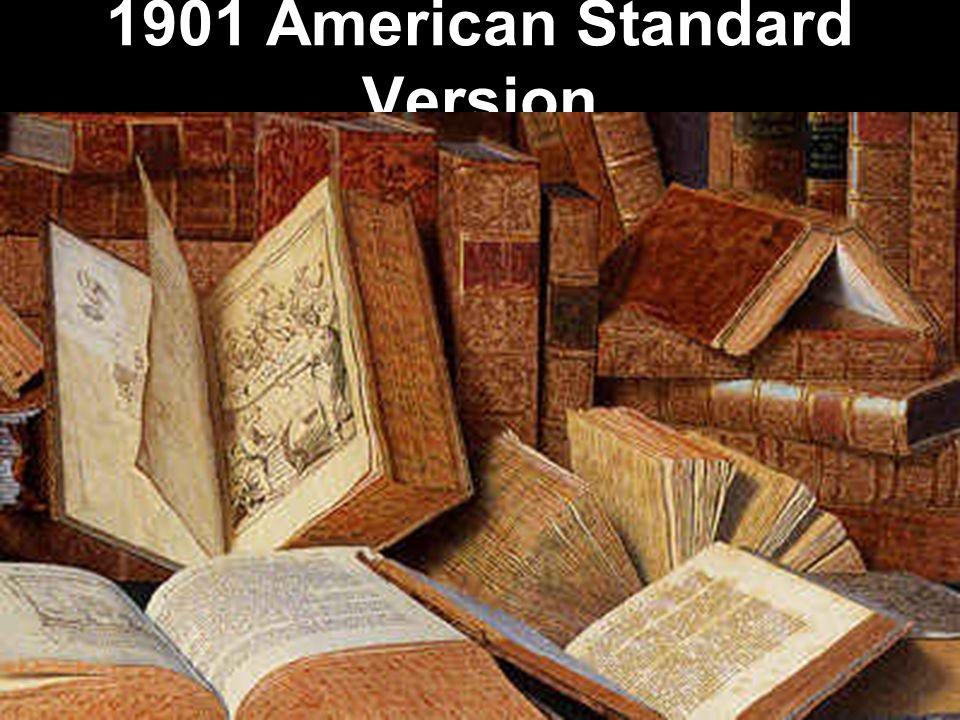 1901 American Standard Version