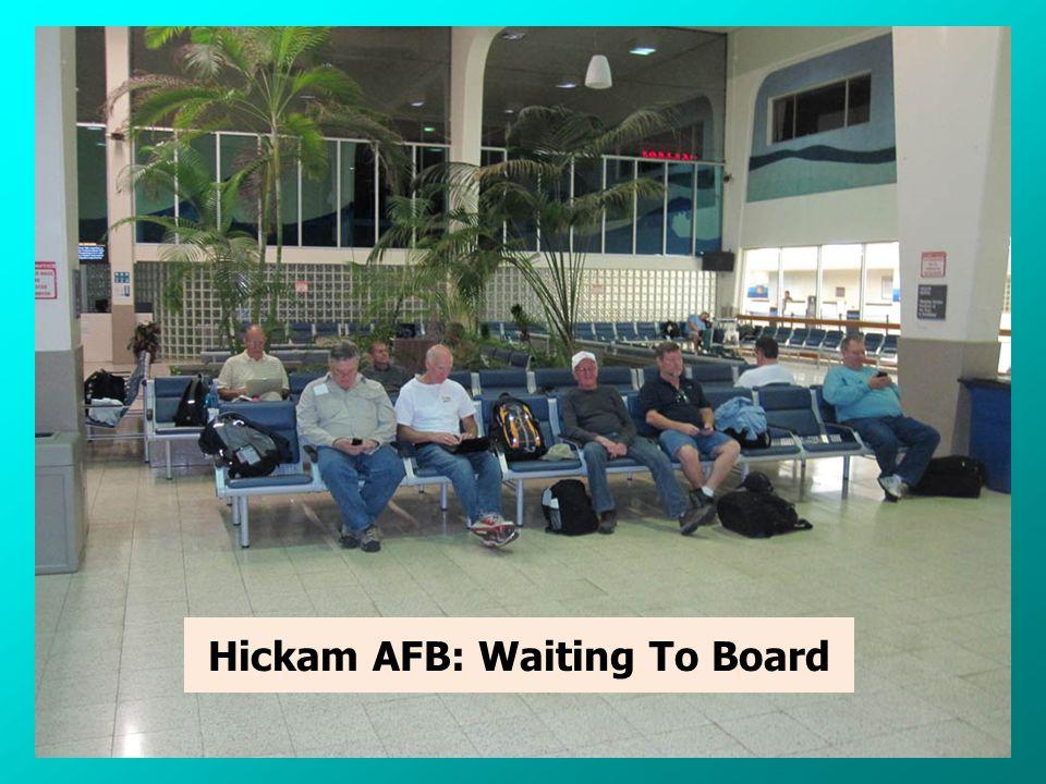 Hickam AFB Meeting Led by Team Leader, Lou, N2TU