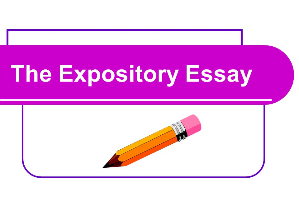 What is an expository essay.