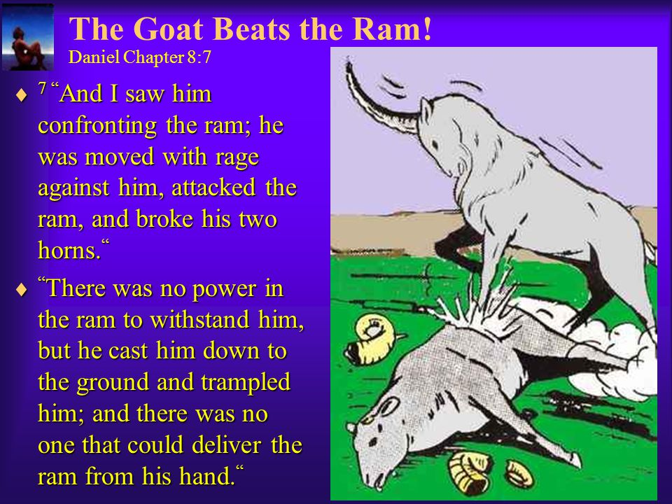 The Goat Beats the Ram.