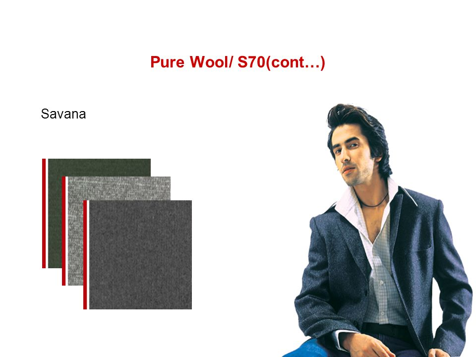 Pure Wool/ S70(cont…) Savana