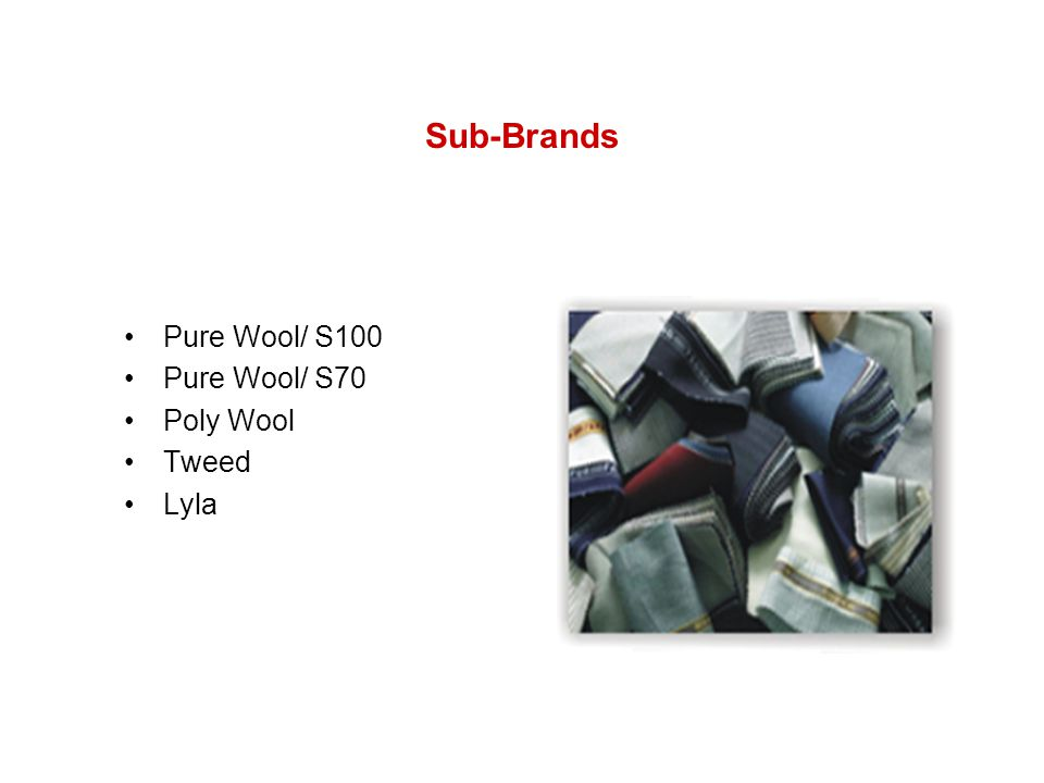 Sub-Brands Pure Wool/ S100 Pure Wool/ S70 Poly Wool Tweed Lyla