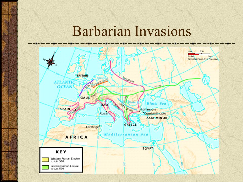 Barbarian Invasions