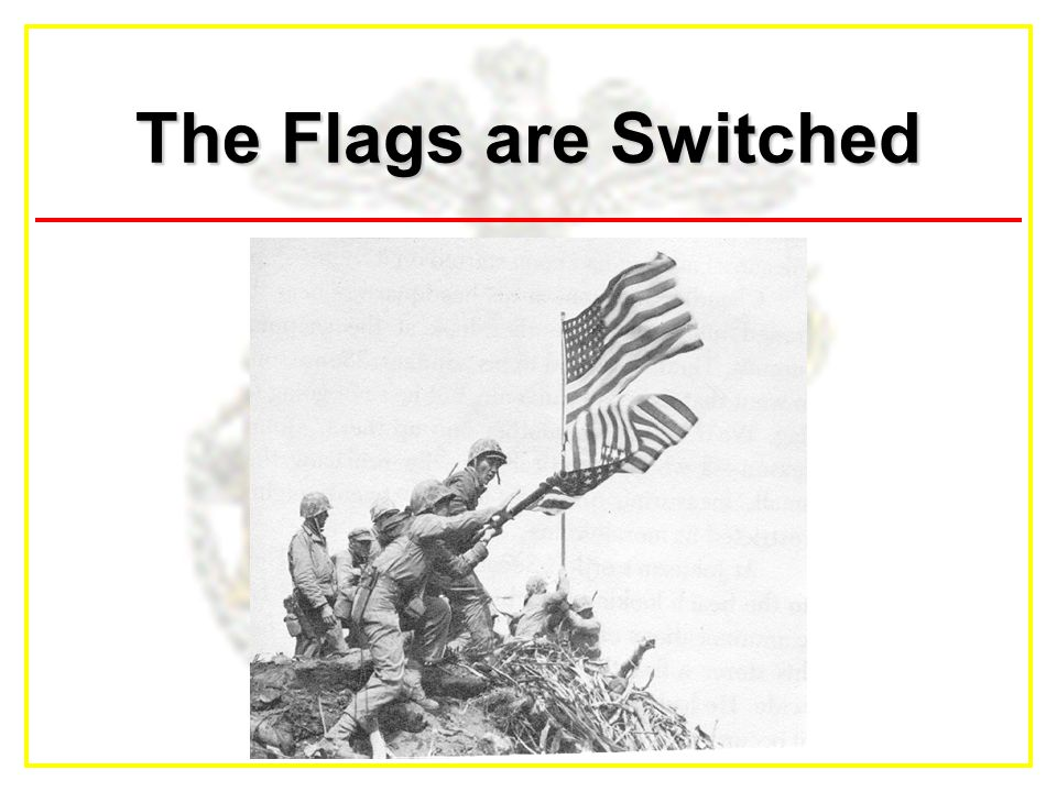 The Flags are Switched