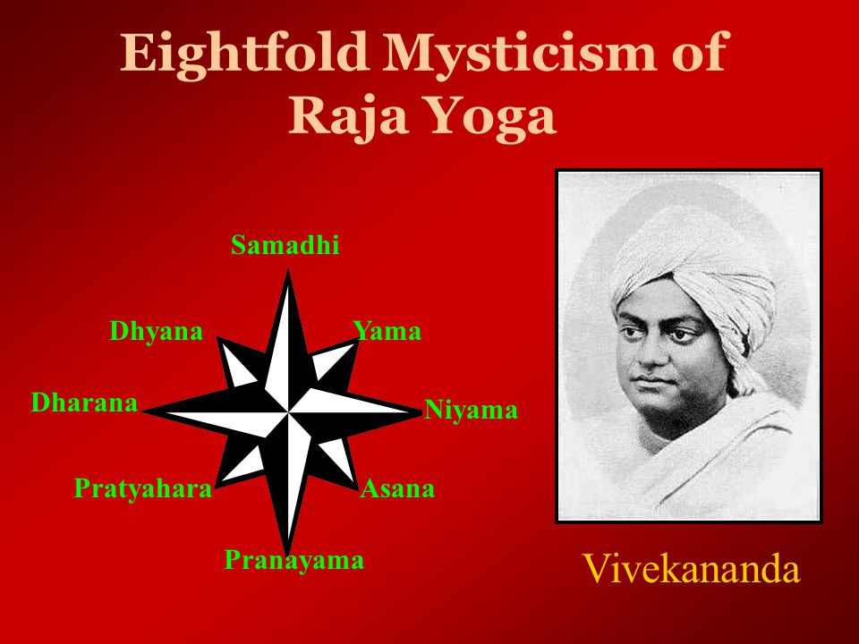 Raja Yoga of Science There are others who, enlightened by sacrificing their material possessions in severe austerities, take strict vows and practice the yoga of eightfold mysticism, and others study the Vedas…