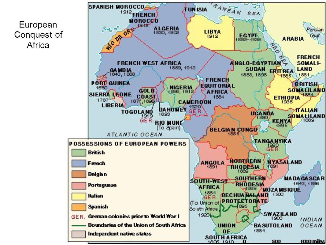 European Conquest of Africa
