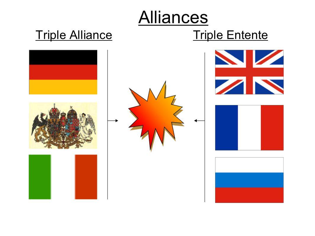 Alliances Triple AllianceTriple Entente
