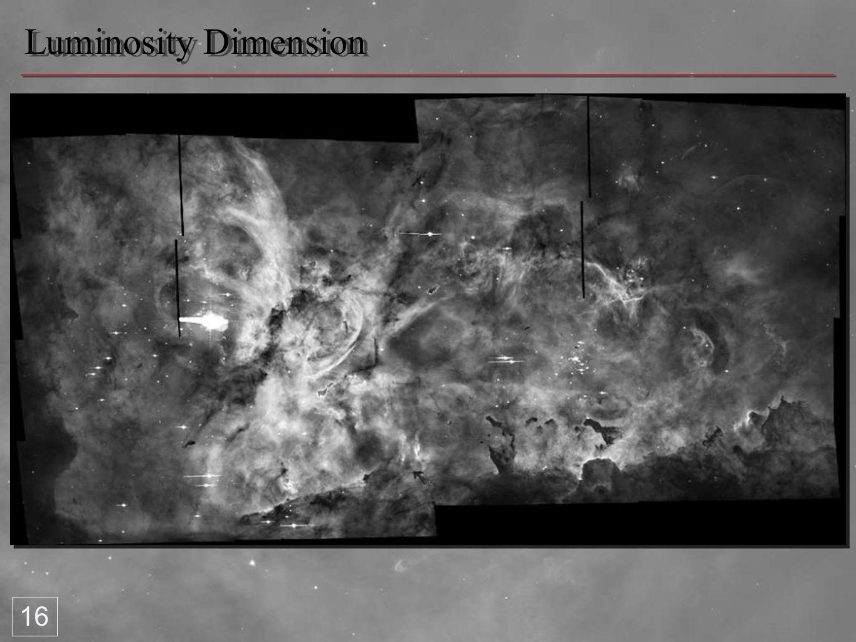 Luminosity Dimension 16