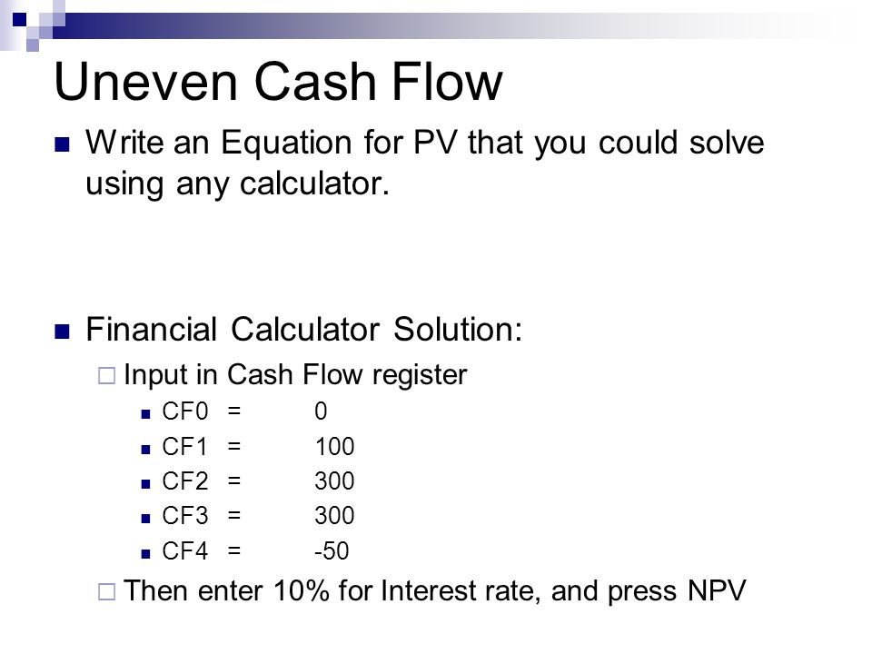 cash flow statement solved problems in algebra