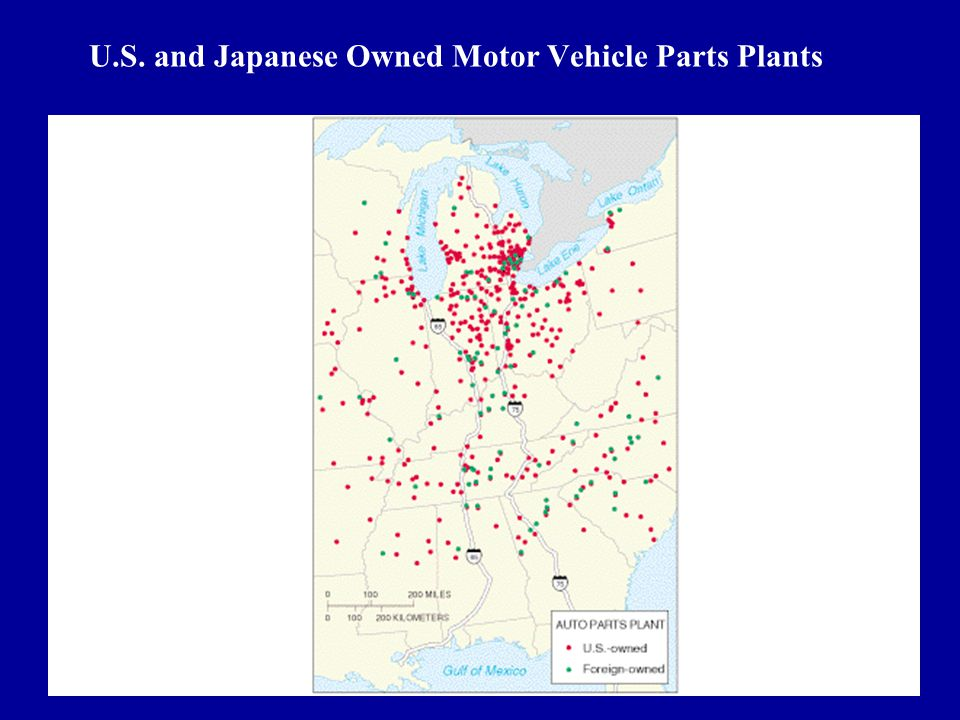 """""""American"""" cars? Japanese Nissan plant In Tennessee Jaguar made in UK by Ford Geo Metro made in Japan, marketed by GM"""