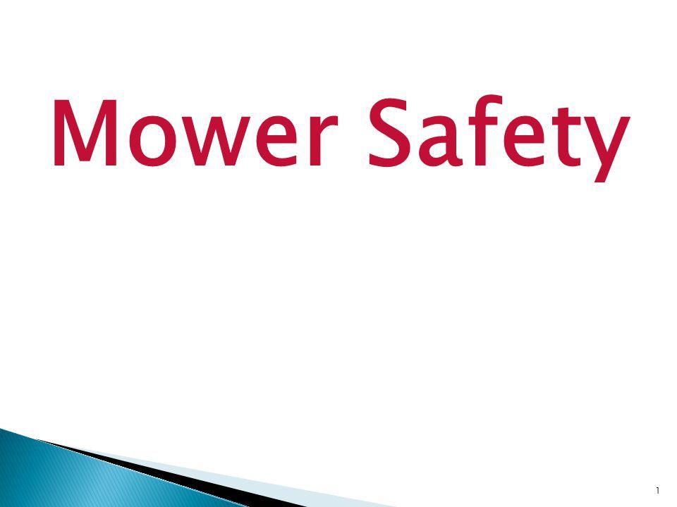 1 Mower Safety