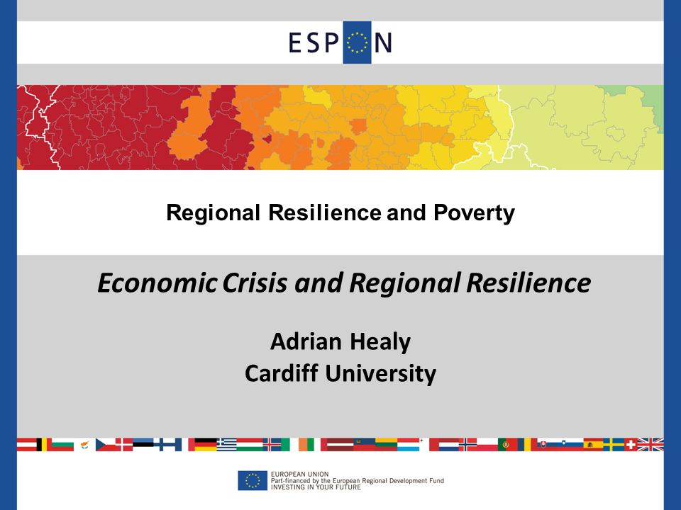 Integrating Regional Resilience and Poverty Reduction 12