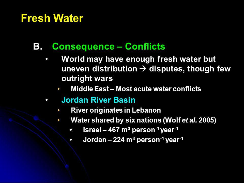 Fresh Water B.