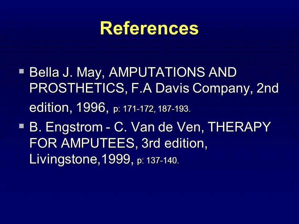 References  Bella J.