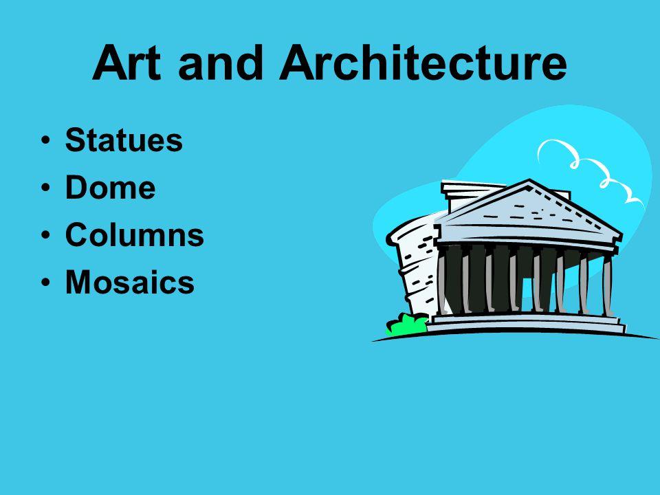 Statues Dome Columns Mosaics
