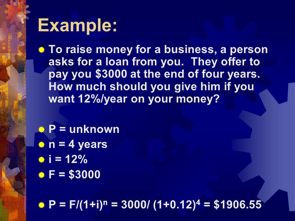  F = 3000(F/P,4%,23) + 800(F/P,4%,20) + 3800(F/P,4%,17) + 400(F/P,4%,5)  = 3000*(2.4647) + 800*(2.1911) + 3800*(1.9479) + 400*(1.1699)  = 7394.10 + 1752.88 + 7402.02 + 467.96 = $17,016.96