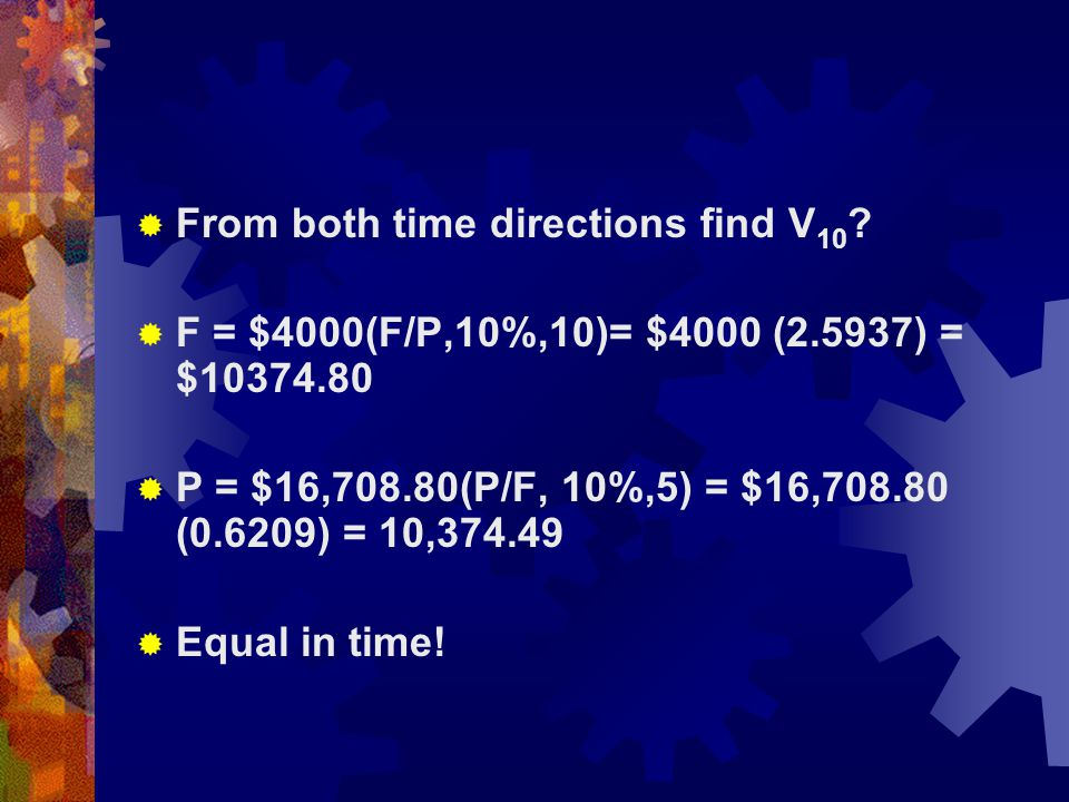  Equal Payment Series compound amount Factor or  Uniform Series Compound Amount (F/A,i,n)
