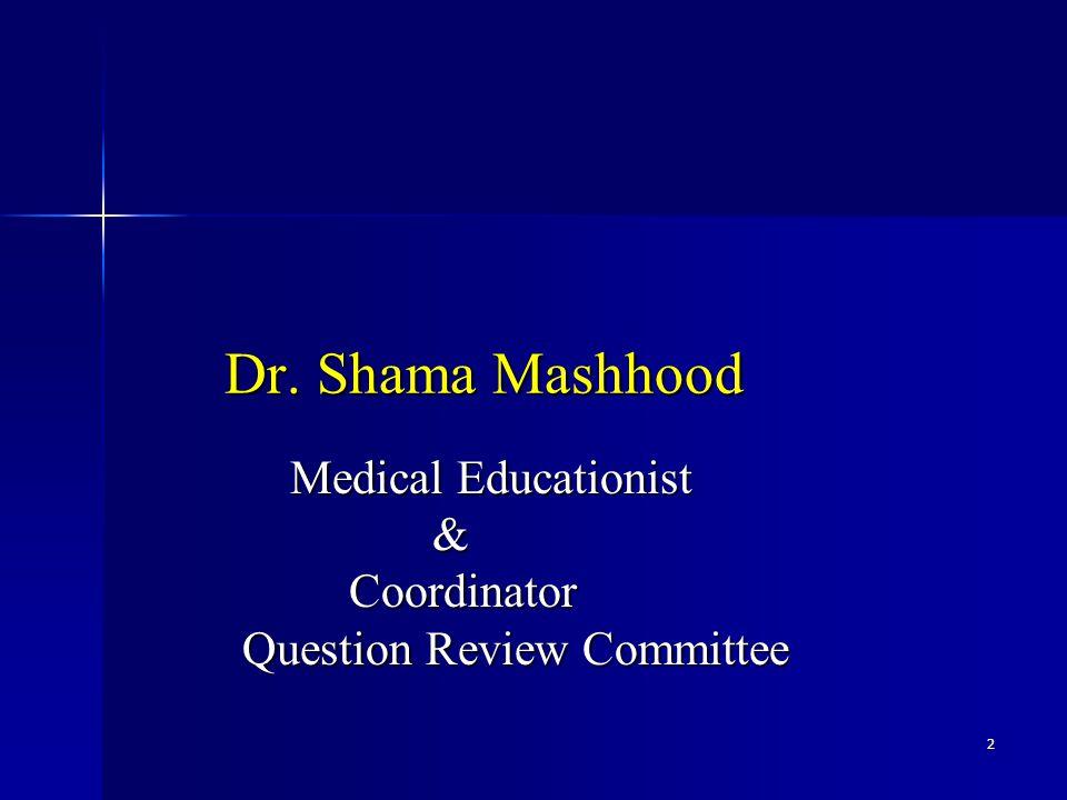 2 Dr. Shama Mashhood Dr.