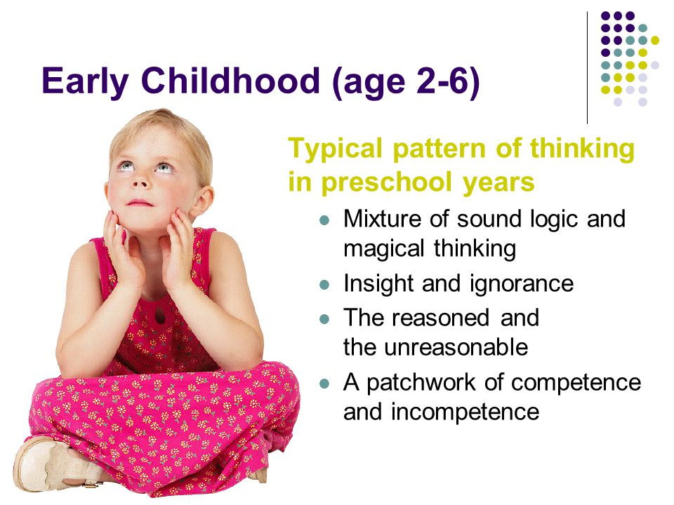 Early Childhood (age 2-6) Crucial questions Are young children simply inconsistent.