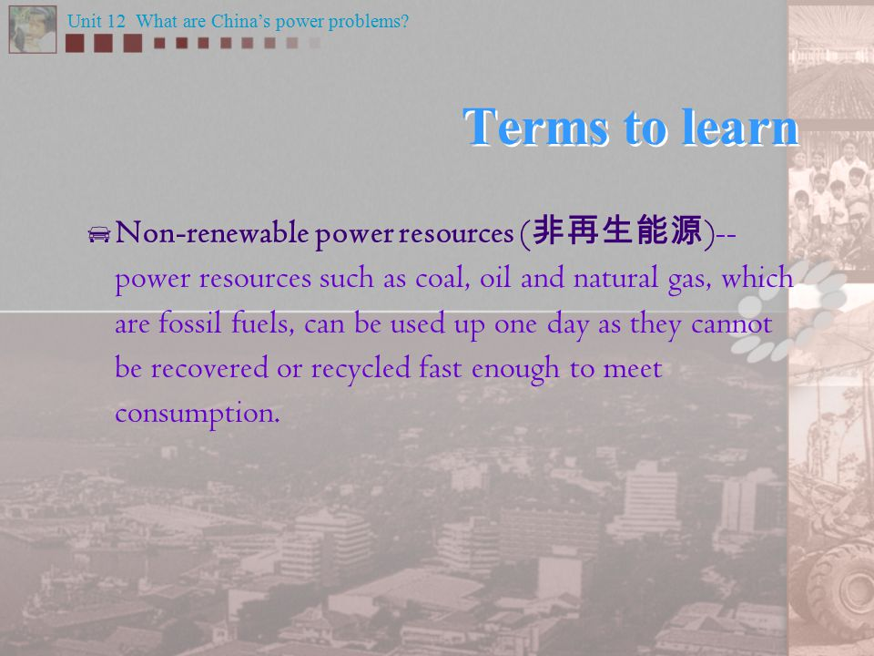 What are the problems caused by the use of fossil fuels.